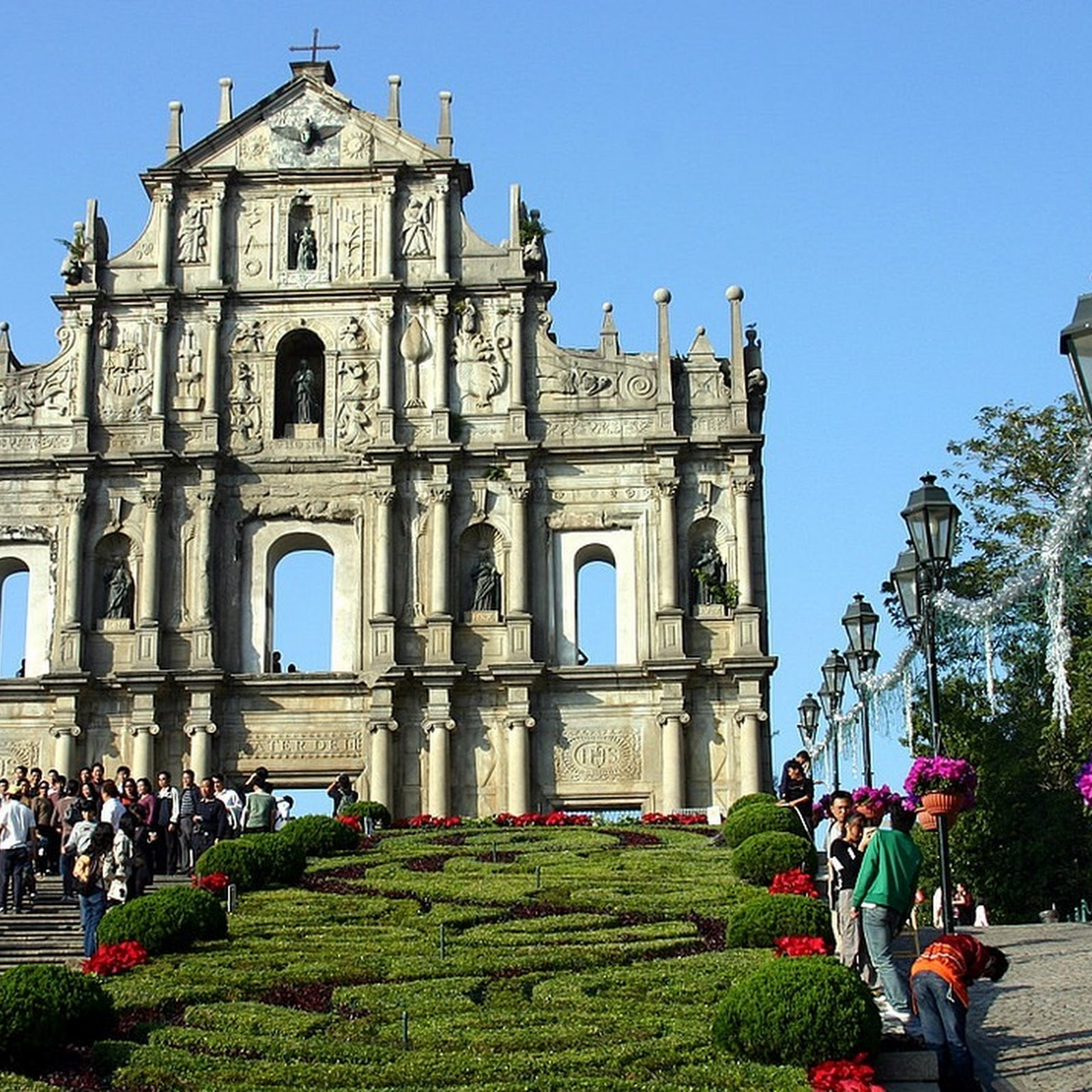The Ruins of St. Paul's Church, Macau
