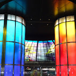 the Dome of Light at Formosa Station in Kaohsiung in Kaohsiung, Kao-hsiung city, Taiwan