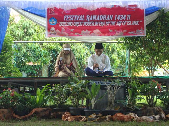 Festival Ramadhan 1434 H SMA Negeri 3 Unggulan Kayuagung Ogan Komering Ilir (OKI) Sumatera Selatan
