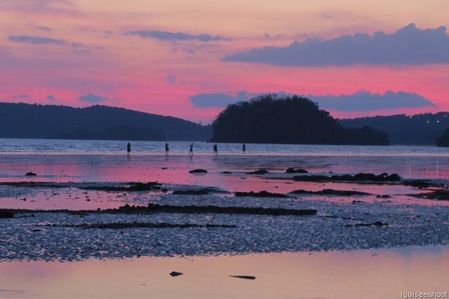 Evening at Nopparat Thara Beach