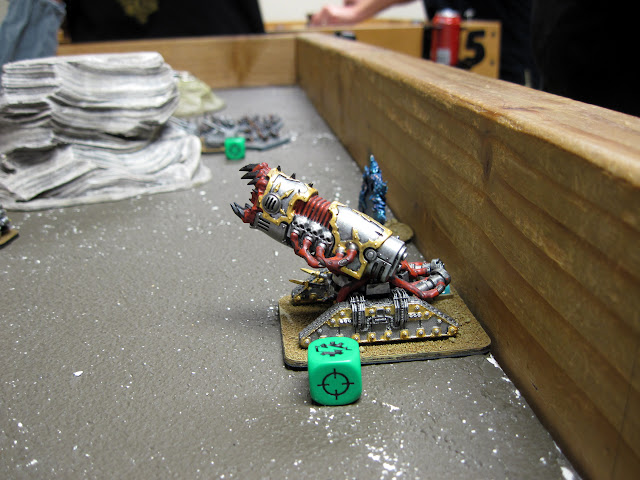 Brad's Ordanatus with its classic deployment position.
