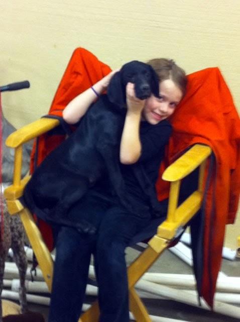 Suvanna at the Raleigh Gun show, what a helper! :)
