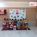 Introduction to Heart Shape by Nursery Section (2017-18) at Witty World, Bangur Nagar