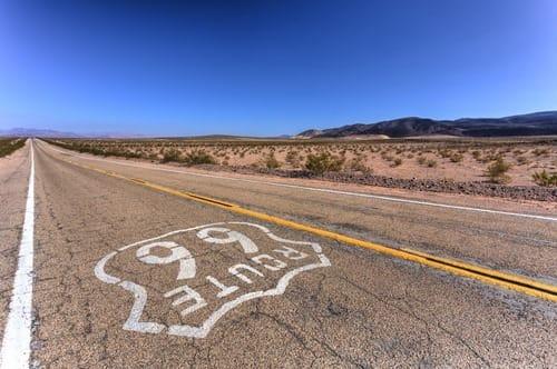 Road Route 66 California