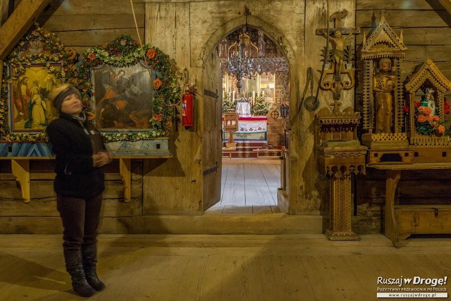 Drewniane skarby Kościółka w Dębnie