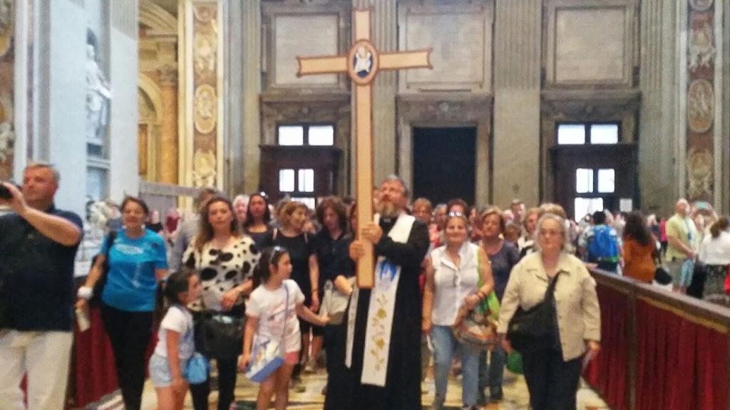 Pielgrzymi z Castellammare w Rzymie, 8 czerwca 2016 - IMG-20160608-WA0025.jpg