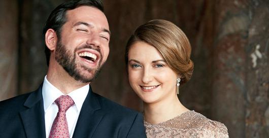 LL.AA.RR le Grand-Duc Hériter et la Grande-Duchesse Héritière de Luxembourg