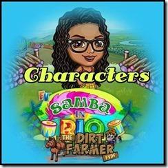 characters header