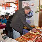 Cakes salés et brochettes de tomates-mozzarella