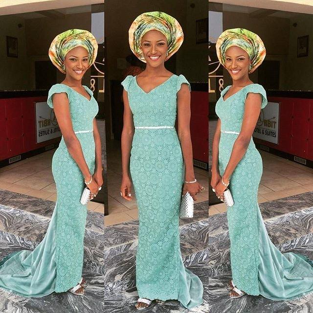 lace kitenge styles