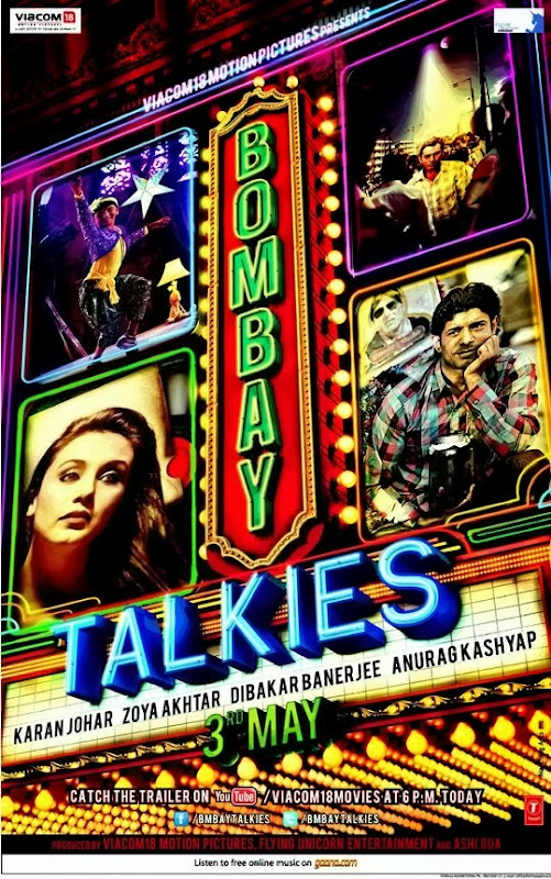 Poster Of Hindi Movie Bombay Talkies (2013) Free Download Full New Hindi Movie Watch Online At Alldownloads4u.Com