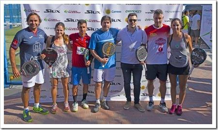 I Jornada del Team Grupo Padel Nuestro celebrada con éxito en Murcia.