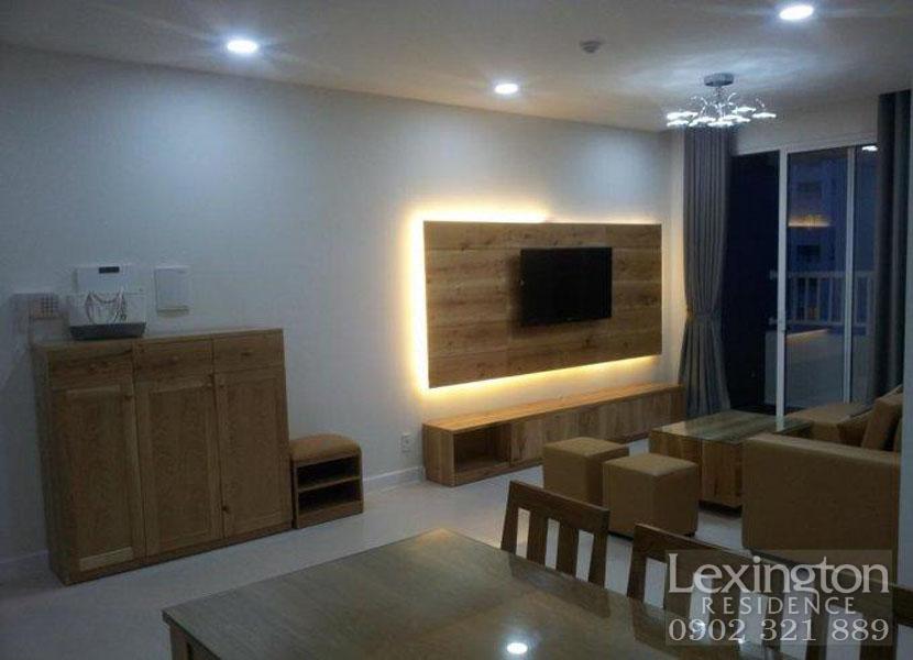 tivi tại căn hộ Lexingto 3 phòng ngủ 101m2