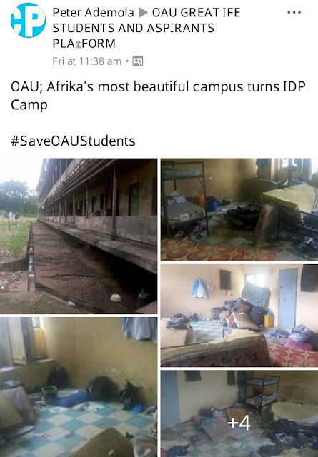See What A Room In OAU Hostel Looks Like (Photos)