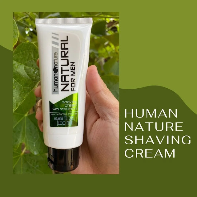 Human Nature Shaving Cream For Men product review