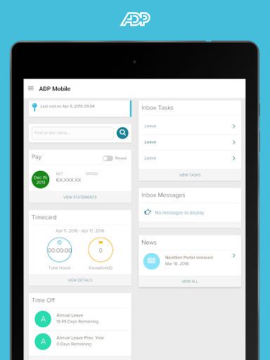 無料商业AppのADP Mobile Solutions|記事Game
