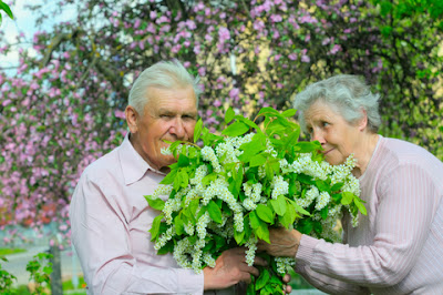 Allisons Home Care Assisted Living Smell Flowers
