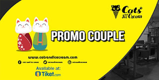 cari tiket hiburan cats and ice cream cafe di bandung
