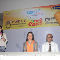 Raashi Khanna At Quit Smoking Campaign