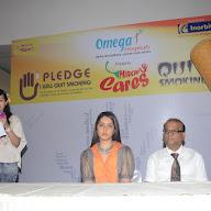 Raashi Khanna At Quit Smoking Campaign