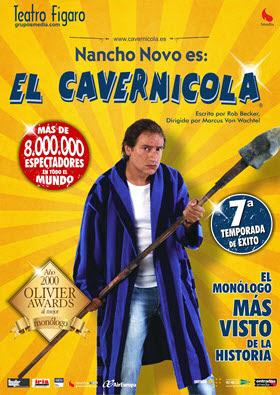 'El Cavernícola' arranca su 7ª temporada en el Teatro Fígaro