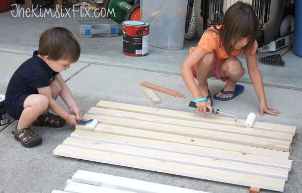 Painting boards