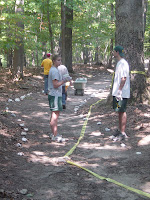 Lining the Trail 1