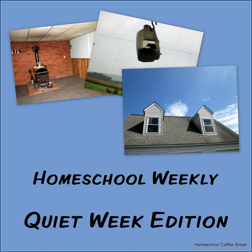 Homeschool Weekly: Quiet Week Edition on Homeschool Coffee Break @ kympossibleblog.blogspot.com