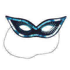 Ögonmask, Glamour blå