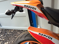 CBR1000RR new slim undertray
