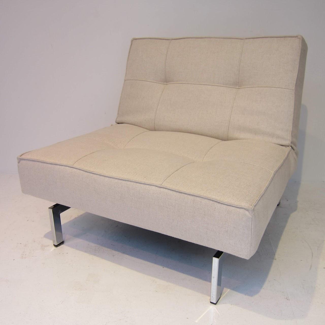 Miraculous Abc Carpet Home Convertible Chair Ottoman Shophousingworks Lamtechconsult Wood Chair Design Ideas Lamtechconsultcom