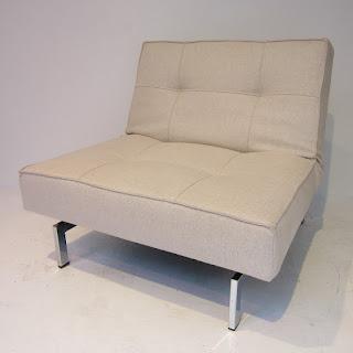 ABC Carpet & Home Convertible Chair/ Ottoman