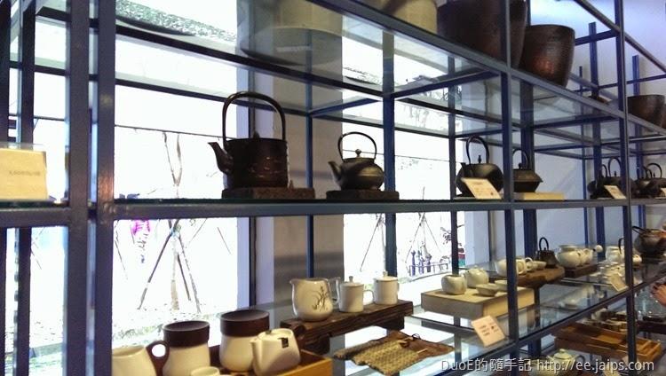 大溪老茶廠-展售架