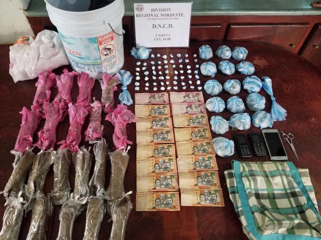 Decomisan más de cuatro mil porciones de distintos narcoticos en operativos