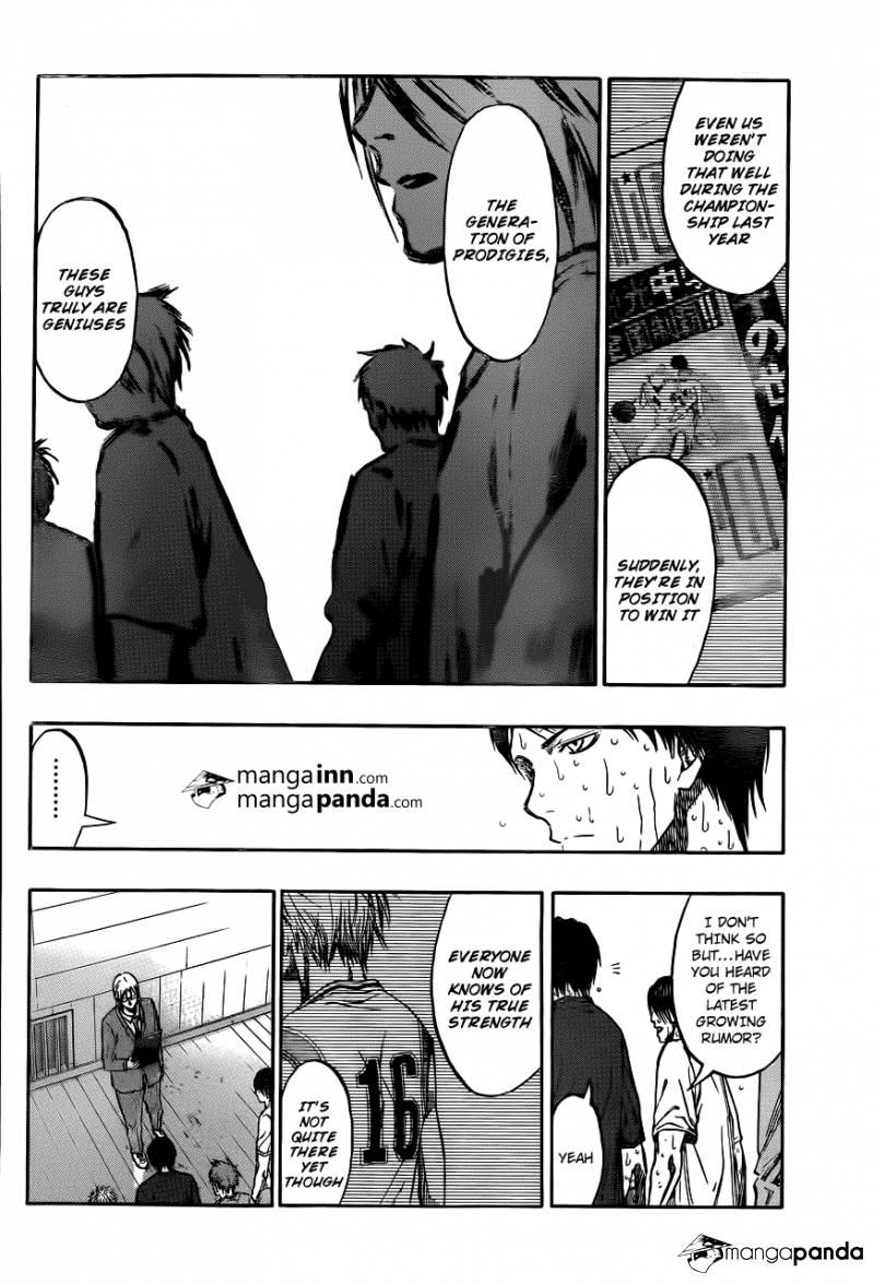 Kuroko no Basket Manga Chapter 210 - Image 08