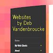 Web Design by Deb Vandenbroucke