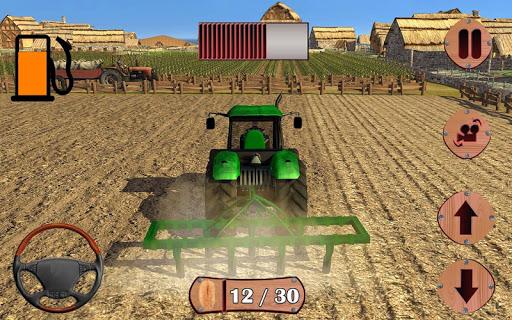 シム丘トラクター農業