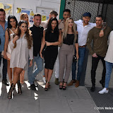 OIC - ENTSIMAGES.COM - Aaron Chalmers, Nathan Henry, Scott Timlin, Marty McKenna, James Tindale, Dan Thomas-Tuck, Charlotte Crosby, Holly Hagan, Chloe Etherington, Chantelle Connelly, Marnie Simpson and Sophie Kasaei  at the The cast of MTV's Geordie Shore celebrates five years of the hit show 24th May 2016 Photo Mobis Photos/OIC 0203 174 1069