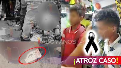 VIDEO: Por estar robando, dos menores fueron asesinados por disidencias de las FARC