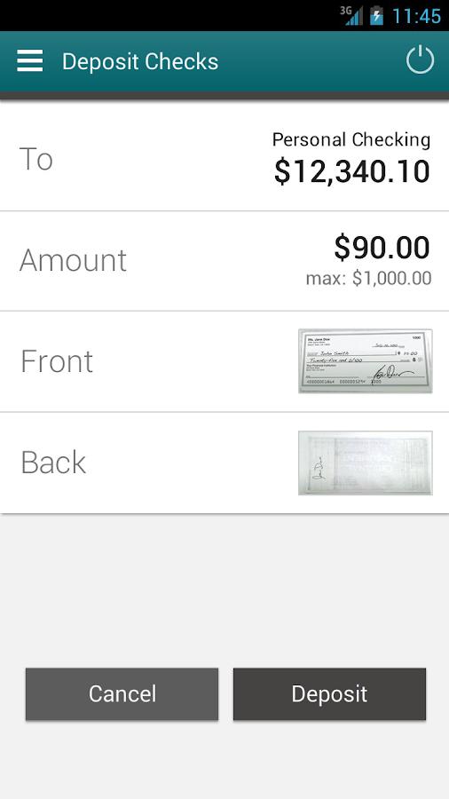 IAA Credit Union Mobile- screenshot