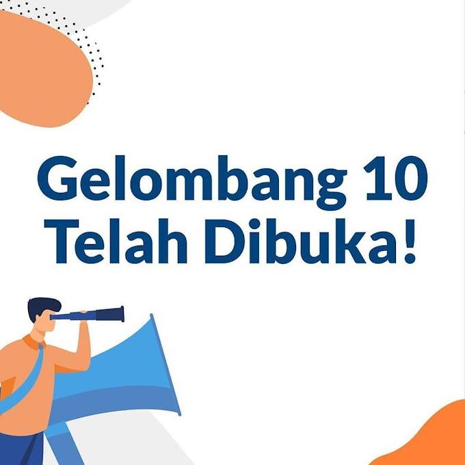 KARTU PRAKERJA Gelombang 10 Kartu Prakerja telah dibuka!