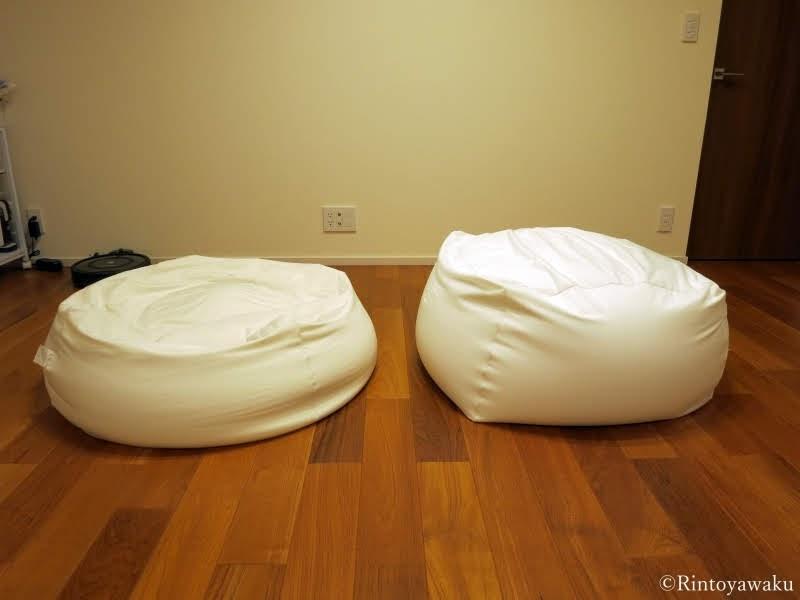 無印良品-からだにフィットするソファの比較写真-1
