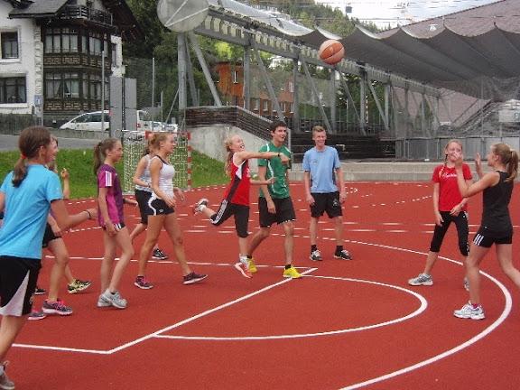 Trainingslager in Davos