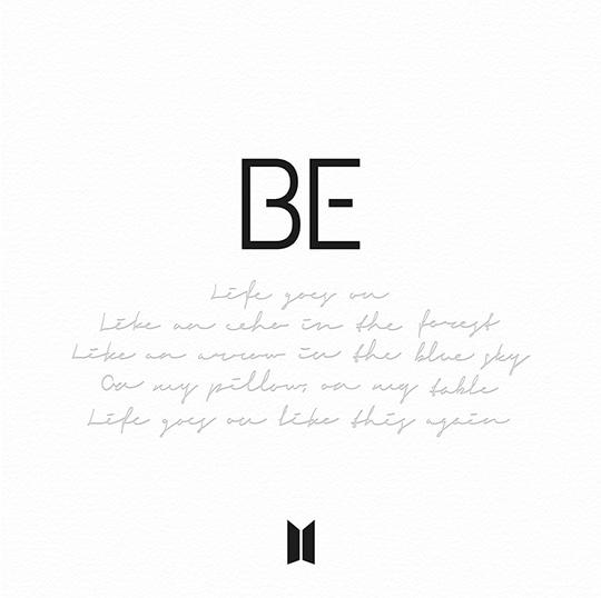 """BE"" - The Latest Album of BTS"