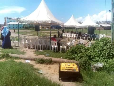 Public participation forum in Kisauni, Mombasa, Kenya. PHOTO | BNC