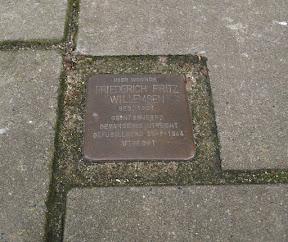 Stolperstein Frederich Fritz Willemsen - Kuipersdijk 113A