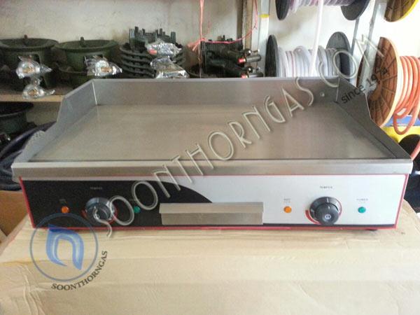 เตาสเต็กไฟฟ้าแบบตั้งโต๊ะ 2 หัวเตา EG-820 (ถาดเรียบ)