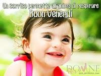 buon venerdi immagine con frase aforisma il sorriso permette all anima di respirare.jpg