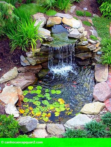Hình 1: Phong thủy về đường nước chảy quanh nhà có lợi hay có hại?