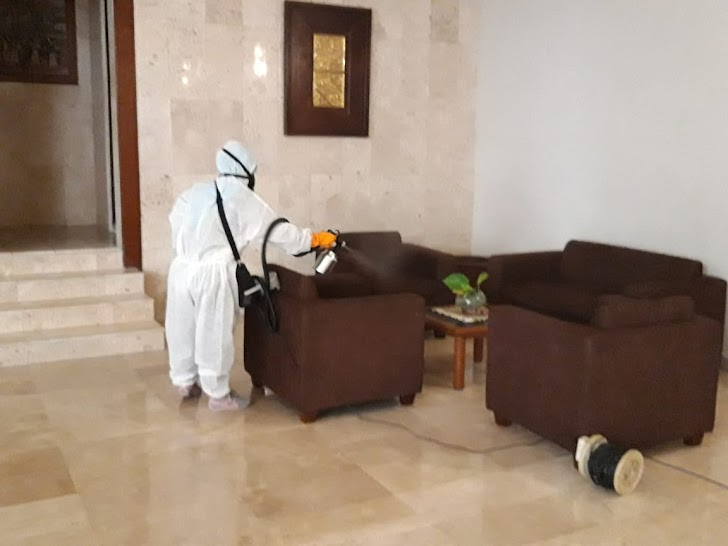 Hotel Gencarkan Disinfeksi Massal Sambut Era Pasca Pandemi